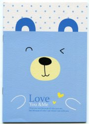 Thumbnail of Love You and Me Animal Face Notebook #2 (NK0019)