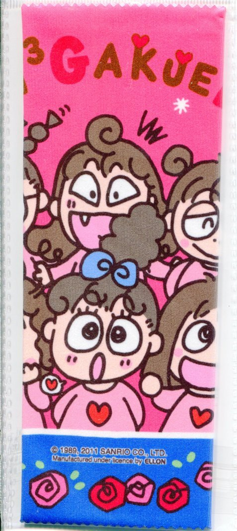 Image 1 of Sanrio Rururu Gakuen Microfiber Eyeglasses Cleaning Cloth #1 (EC0108)
