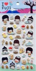 Tianke Life in Japan Sponge Sticker Sheet #2 (I1217)