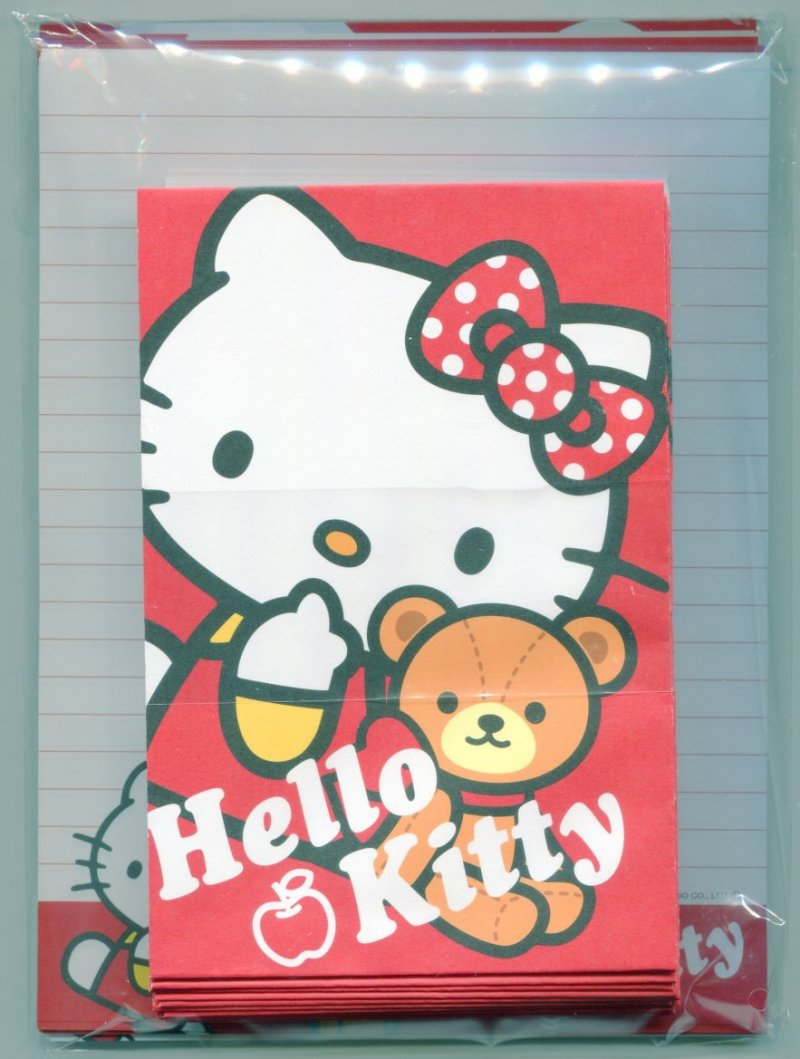 Image 0 of Sanrio Hello Kitty 4 Design Letter Set #12 (L1037)