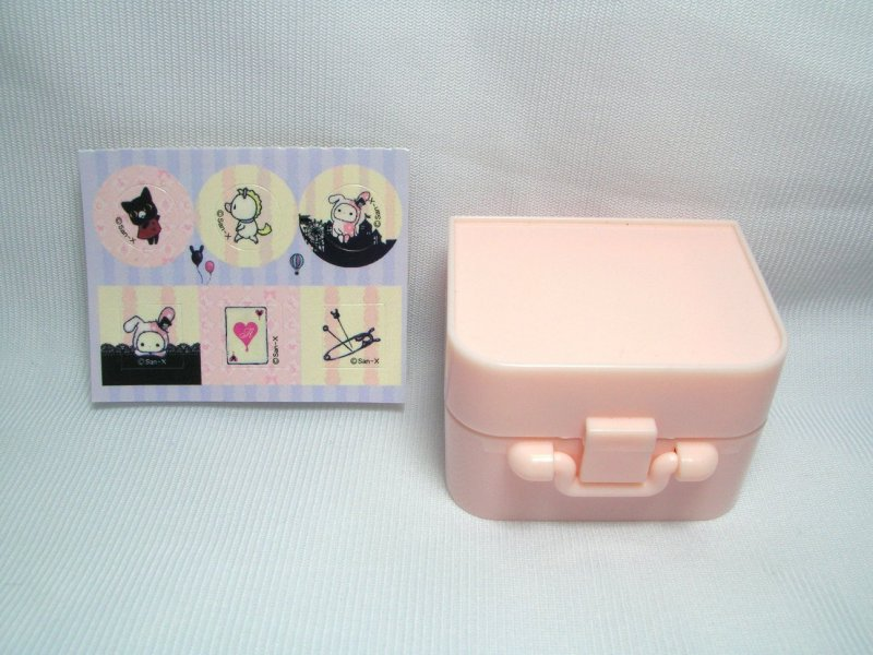 Image 0 of San-X Sentimental Circus 6 Stamps and Case Set #1 (SS0086)