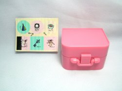 Thumbnail of San-X Sentimental Circus 6 Stamps and Case Set #2 (SS0087)