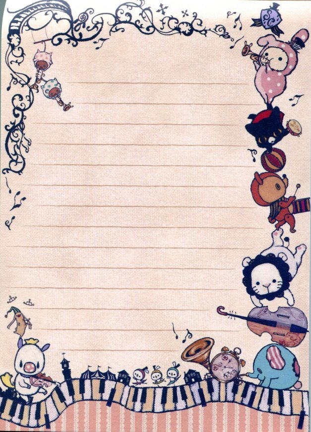 Image 3 of San-X Sentimental Circus 5 Design Memo Pad #8 (M1116)