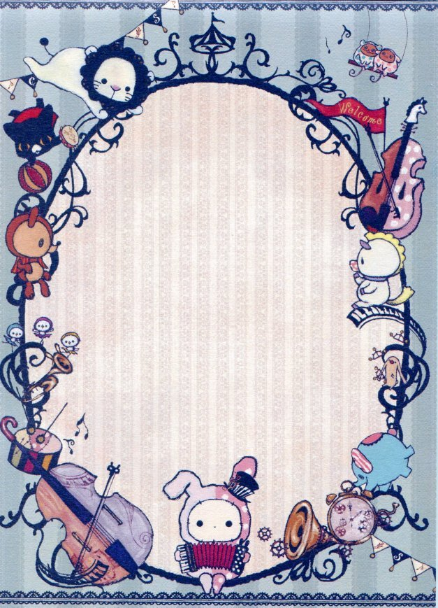 Image 4 of San-X Sentimental Circus 5 Design Memo Pad #8 (M1116)
