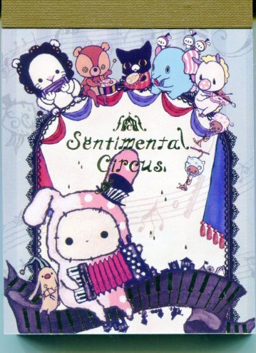 Image 0 of San-X Sentimental Circus 2 Design Mini Memo Pad #9 (M1117)