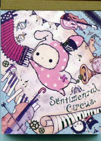 Image 0 of San-X Sentimental Circus 2 Design Mini Memo Pad #11 (M1119)