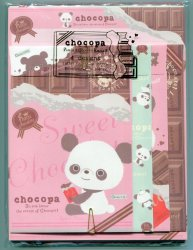 Thumbnail of San-X Chocopa Panda 4 Design Letter Set #4 (L1067)