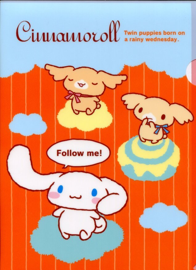 Image 0 of Sanrio Cinnamoroll Classic Style A4 Plastic File Folder #8