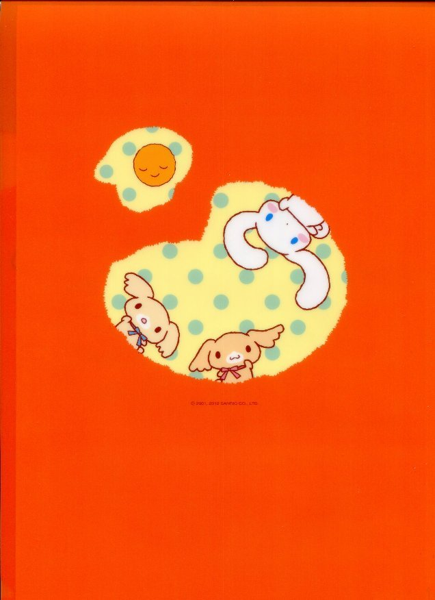 Image 1 of Sanrio Cinnamoroll Classic Style A4 Plastic File Folder #8