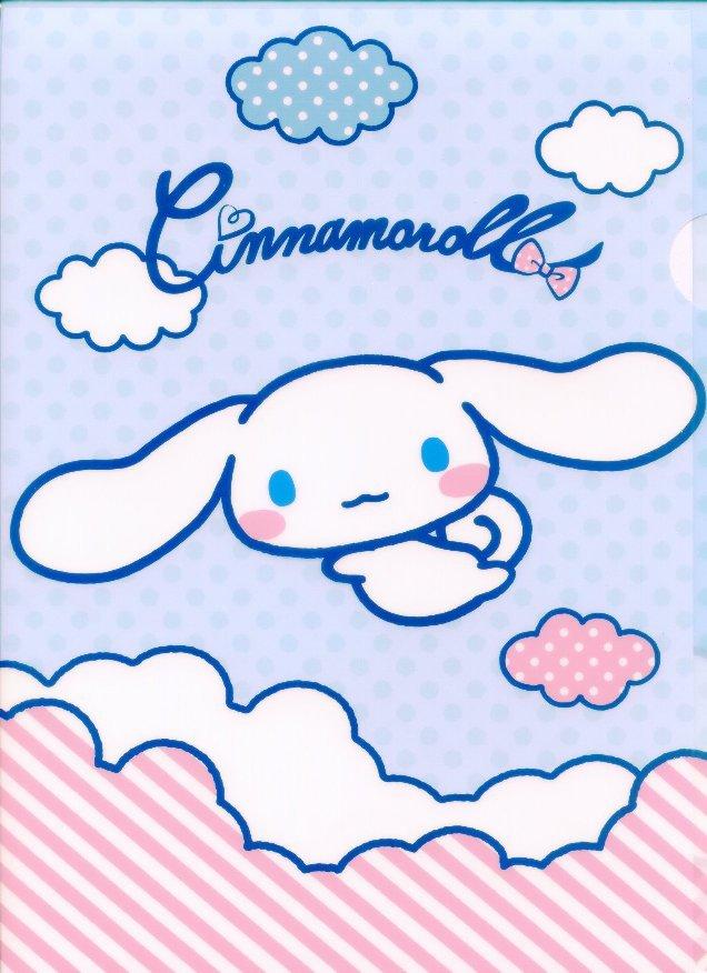 Image 0 of Sanrio Cinnamoroll Classic Style A4 Plastic File Folder #9
