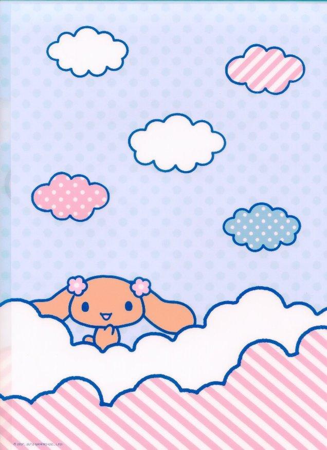 Image 1 of Sanrio Cinnamoroll Classic Style A4 Plastic File Folder #9