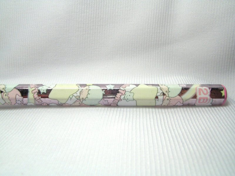 Image 0 of Sanrio Little Twin Stars 2B Wooden Pencil #1 (PN0146)