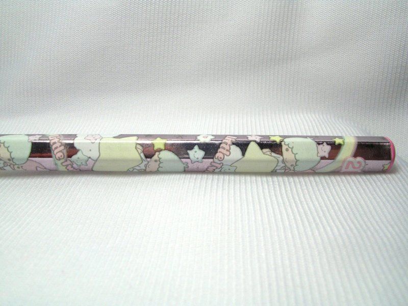 Image 1 of Sanrio Little Twin Stars 2B Wooden Pencil #1 (PN0146)
