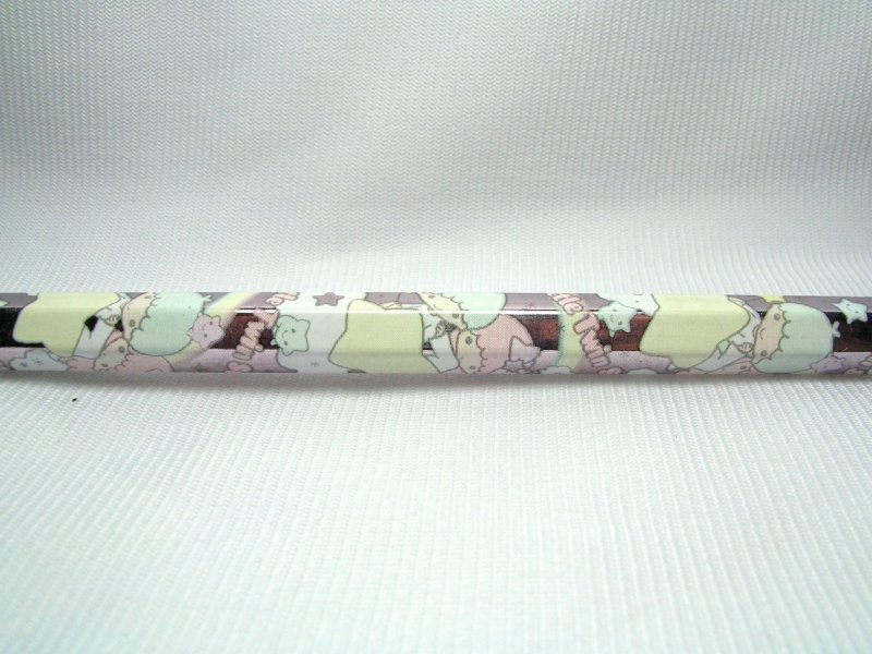Image 2 of Sanrio Little Twin Stars 2B Wooden Pencil #1 (PN0146)