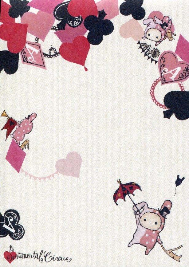 Image 1 of San-X Sentimental Circus 5 Design Memo Pad #9 (M1207)