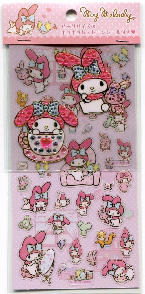 Image 0 of Sanrio My Meldoy 2 Design Sticker Sheet Set #1 (I1392)