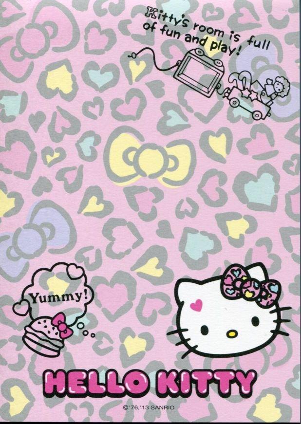 Image 3 of Sanrio Hello Kitty 8 Design Memo Pad #5 (M1256)