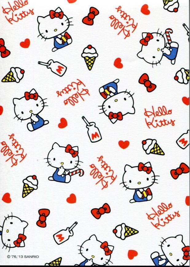 Image 4 of Sanrio Hello Kitty 8 Design Memo Pad #5 (M1256)