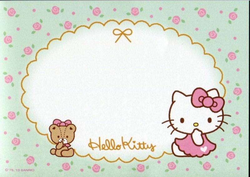 Image 7 of Sanrio Hello Kitty 8 Design Memo Pad #5 (M1256)