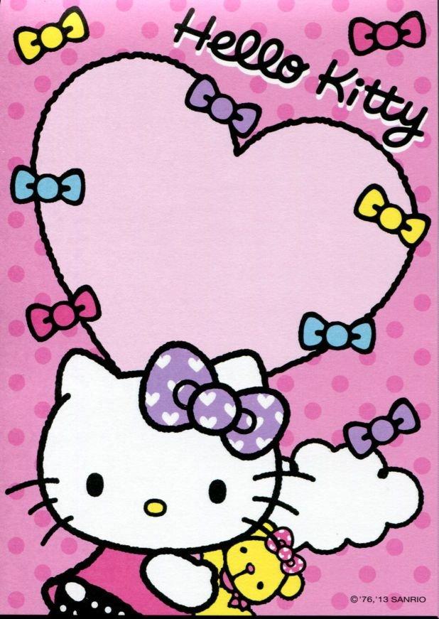 Image 8 of Sanrio Hello Kitty 8 Design Memo Pad #5 (M1256)