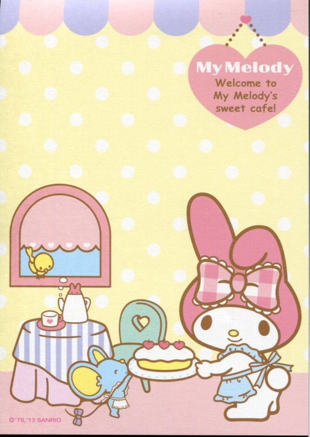 Image 8 of Sanrio My Melody 8 Design Memo Pad #3 (M1257)