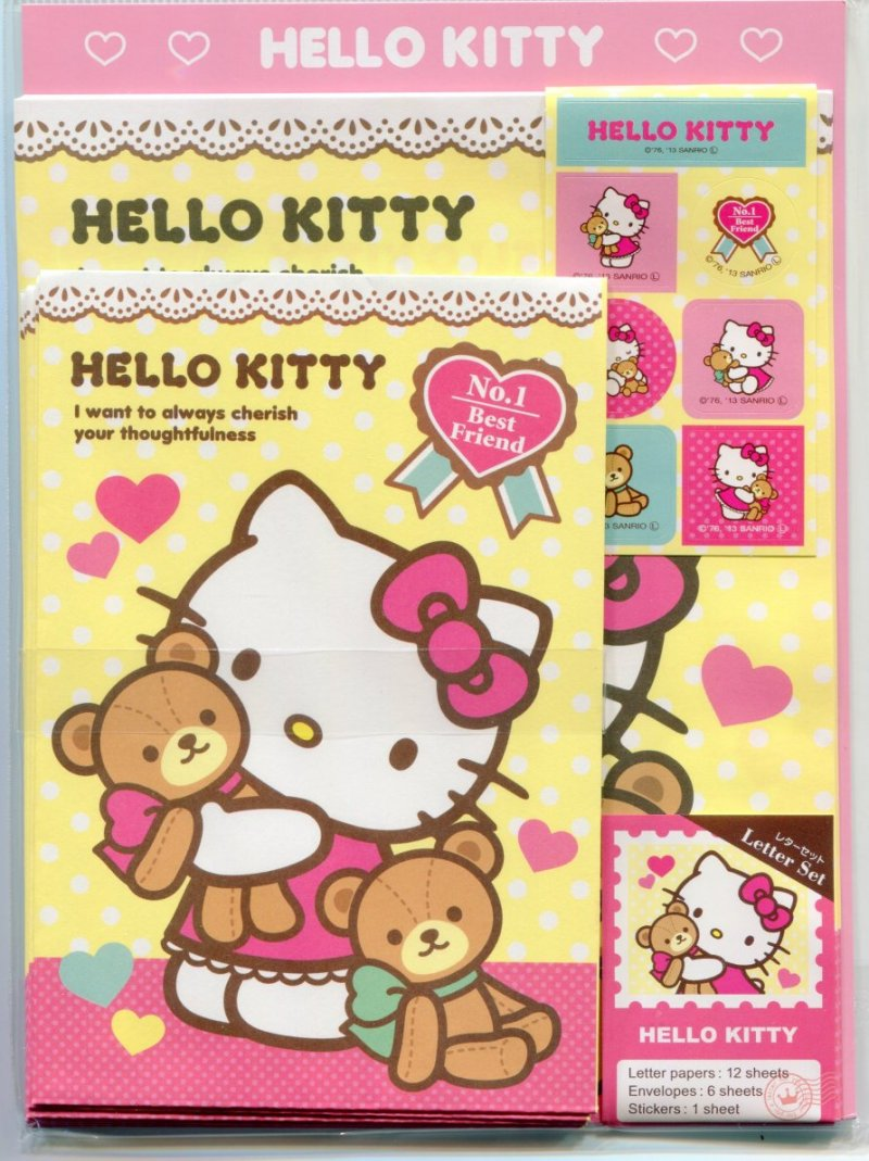 Image 0 of Sanrio Hello Kitty Letter Set #9 (L1139)