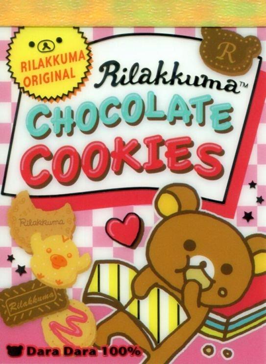 Image 0 of San-X Rilakkuma Relax Bear 2 Design Mini Memo Pad #56 (Rilakku market) (M1287)