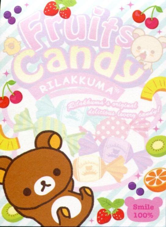 Image 1 of San-X Rilakkuma Relax Bear 2 Design Mini Memo Pad #57 (Rilakku market) (M1288)