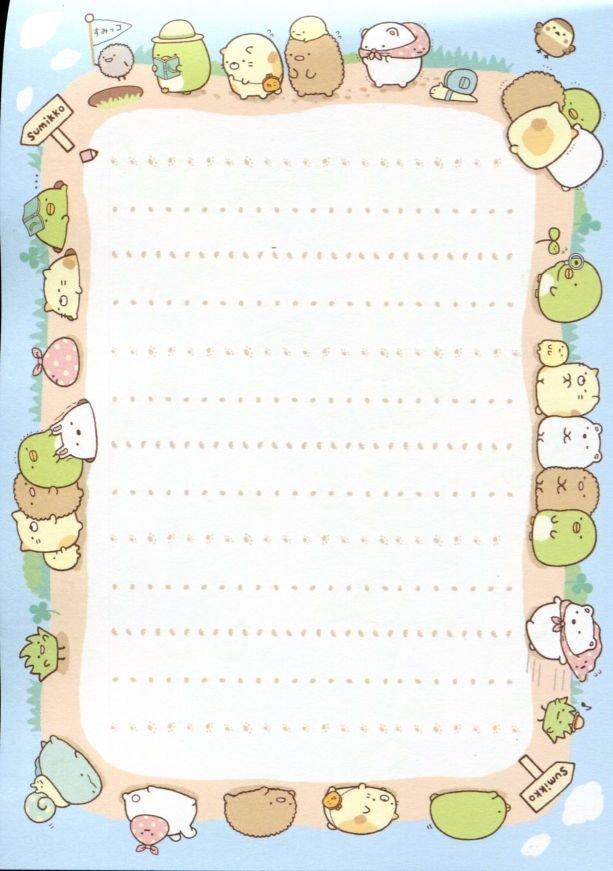Image 3 of San-X Sumikko Gurashi 8 Design Memo Pad #1 (M1297)