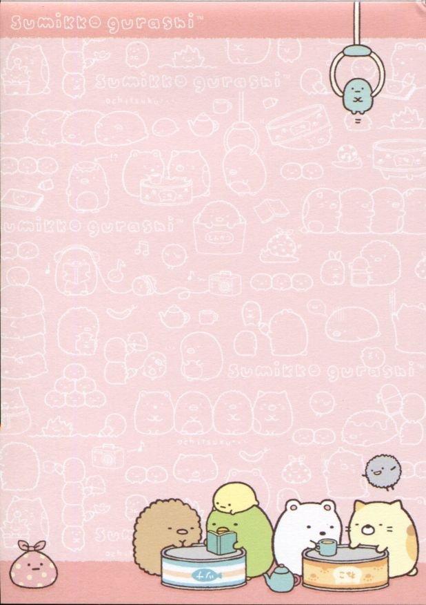 Image 6 of San-X Sumikko Gurashi 5 Design Memo Pad #1 (M1310)