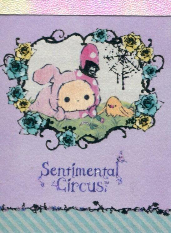 Image 0 of San-X Sentimental Circus 2 Design Mini Memo Pad #27 (M1330)