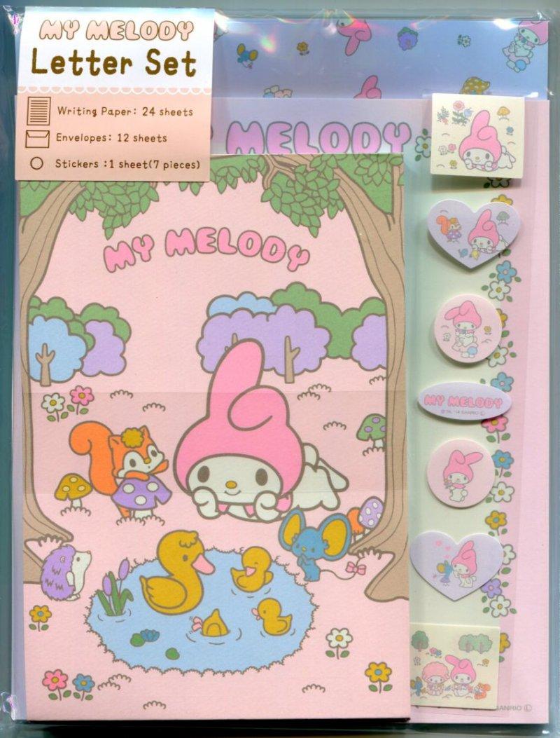 Image 0 of Sanrio My Melody My Melo Tone 2 Design Letter Set #1 (L1192)