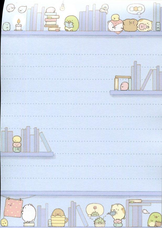 Image 6 of San-X Sumikko Gurashi 5 Design Memo Pad #4 (M1358)