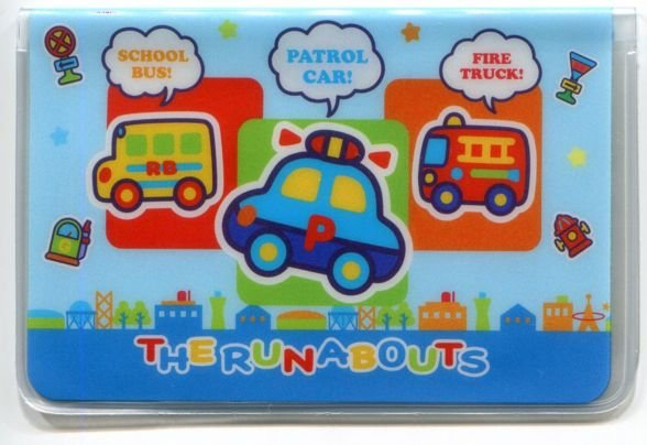 Image 0 of Sanrio The Runabouts 2 Pockets Card Case #2 (SC0394)