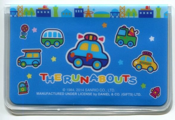 Image 1 of Sanrio The Runabouts 2 Pockets Card Case #2 (SC0394)
