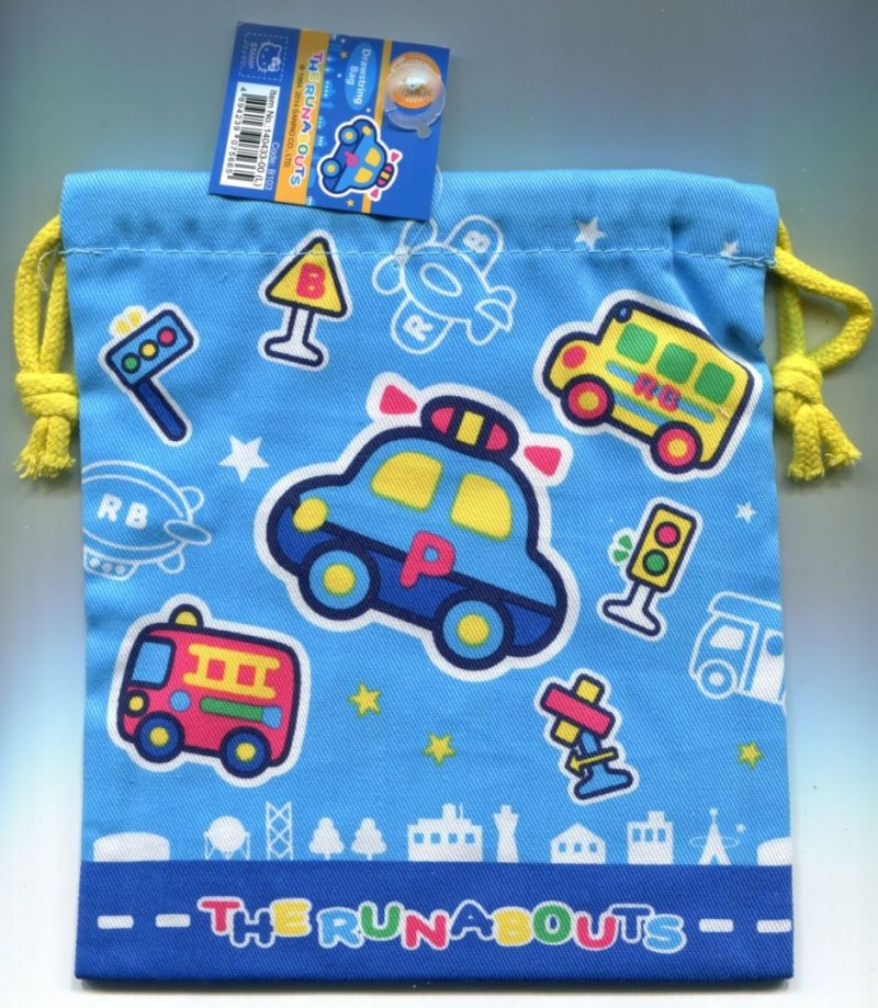 Image 0 of Sanrio The Runabouts Cotton Drawstring Bag #3 (AD0210)