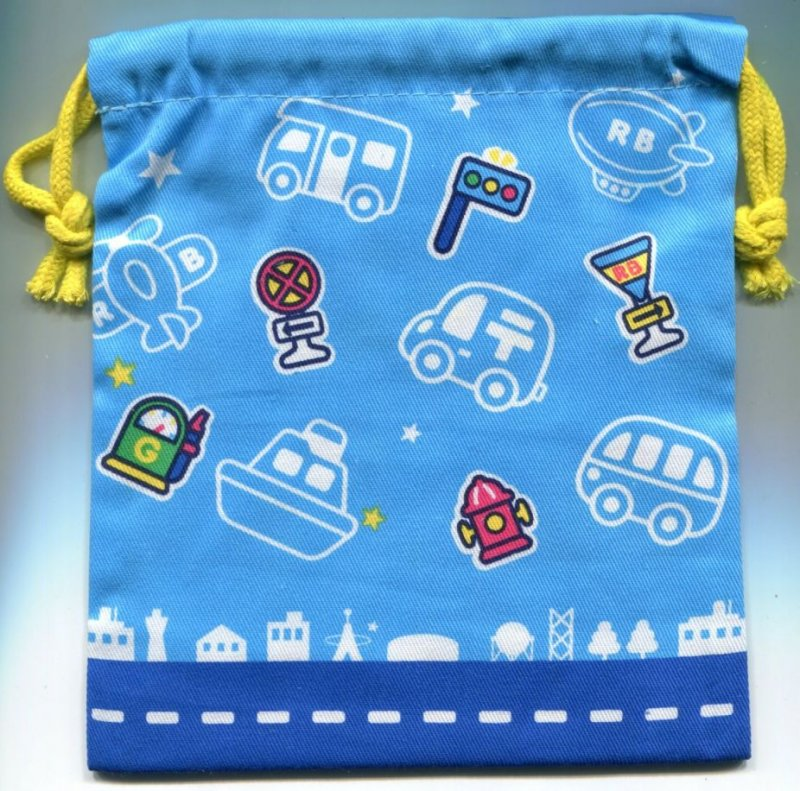 Image 1 of Sanrio The Runabouts Cotton Drawstring Bag #3 (AD0210)
