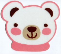Thumbnail of Bear Head Die Cut Mouse Pad #2 (SU0017)