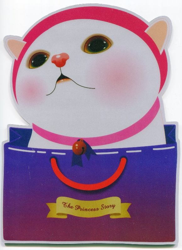Image 0 of Korea Jetoy The Princess Story Cat Die Cut Mouse Pad #1 (SU0018)