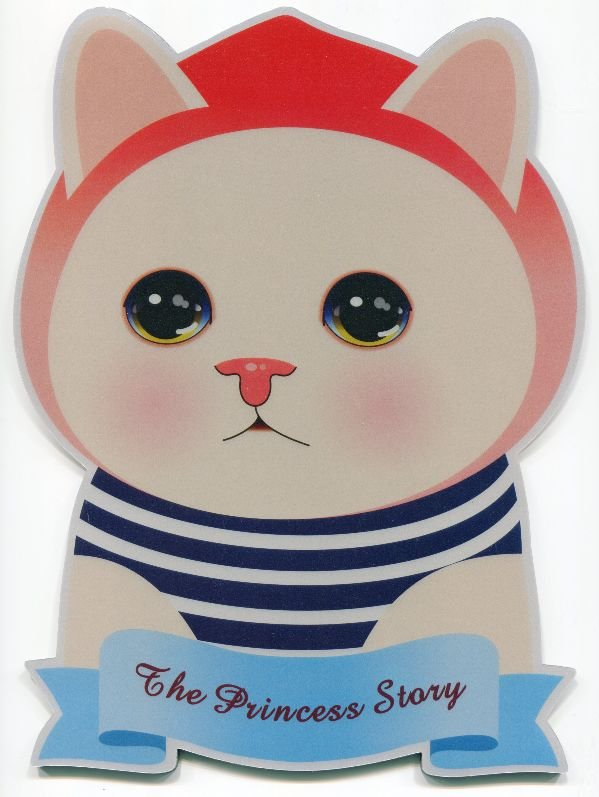 Image 0 of Korea Jetoy The Princess Story Cat Die Cut Mouse Pad #3 (SU0020)