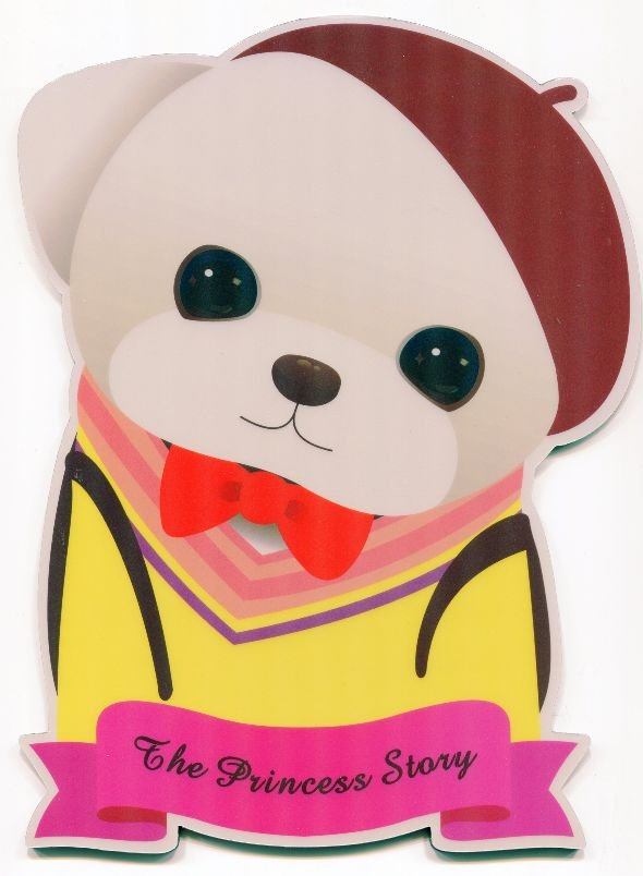 Image 0 of Korea Jetoy The Princess Story Dog Die Cut Mouse Pad #1 (SU0023)