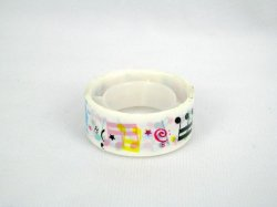 Thumbnail of Small Deco Tape Adhesive Tape Part 01 #01 (Music Note) (DS0001)