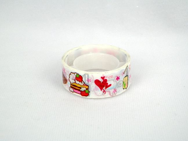 Image 0 of Small Deco Tape Adhesive Tape Part 01 #02 (Cake) (DS0002)