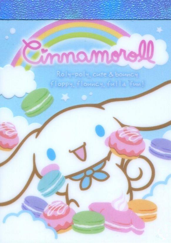 Image 0 of Sanrio Cinnamoroll 2 Design Mini Memo Pad #1 (M1390)