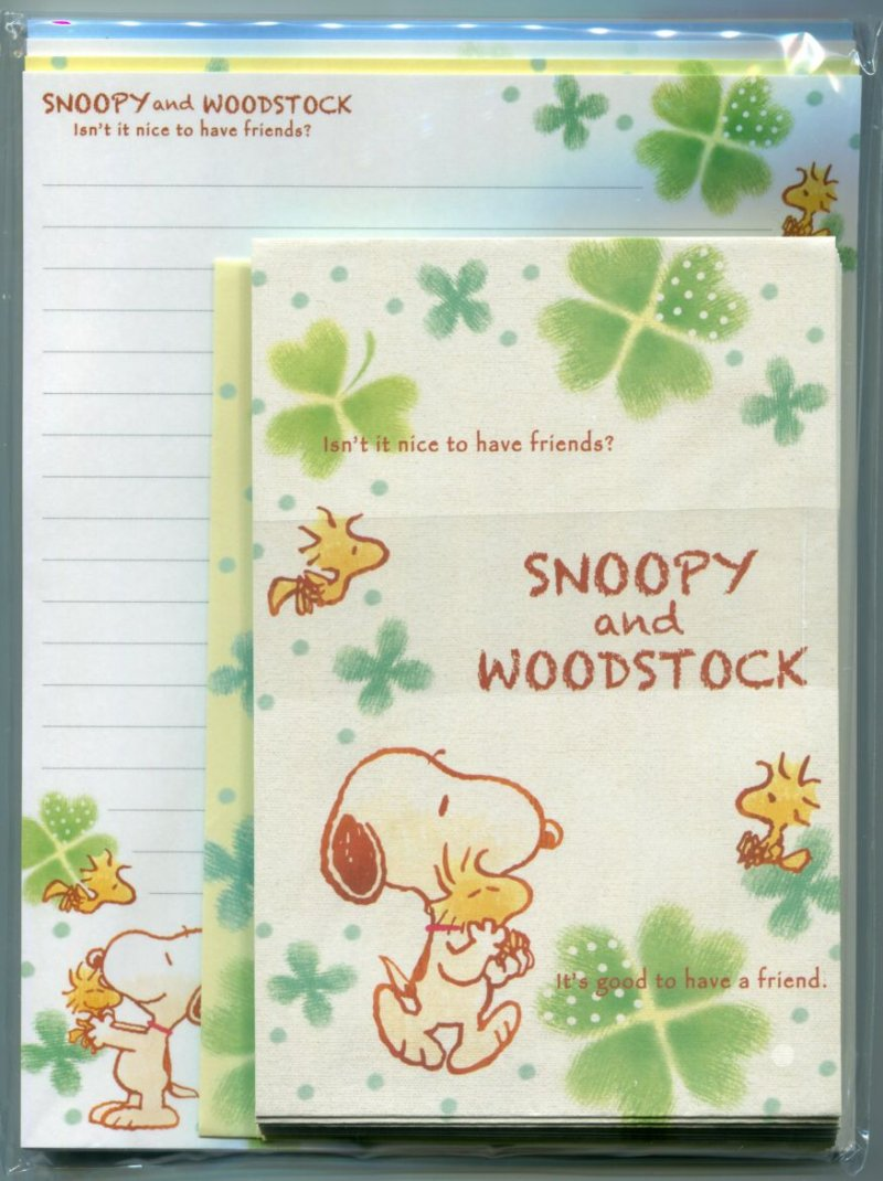 Image 0 of Peanuts Snoopy 4 Design Letter Set #22 (L1246)