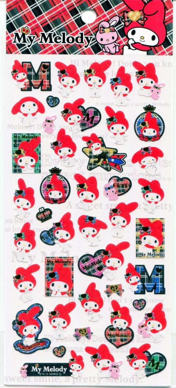 Image 0 of Sanrio My Melody Love Sticker Sheet #1 (I1550)