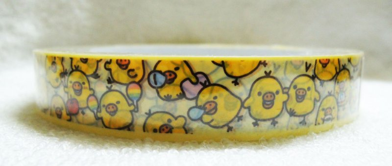 Image 1 of San-X Rilakkuma Relax Bear Deco Tape Masking Tape #28 (DM0208)