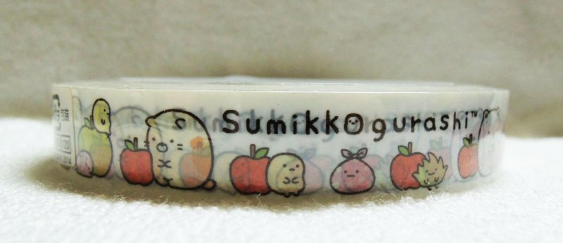 Image 0 of San-X Sumikko Gurashi Deco Tape Masking Tape #4 (DM0212)