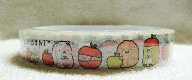 Image 1 of San-X Sumikko Gurashi Deco Tape Masking Tape #4 (DM0212)