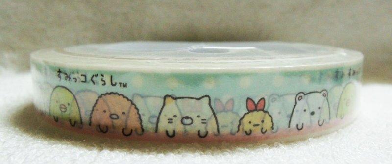 Image 0 of San-X Sumikko Gurashi Deco Tape Masking Tape #7 (DM0215)